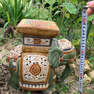 陶器のゾウさん🍀 - 北九州市