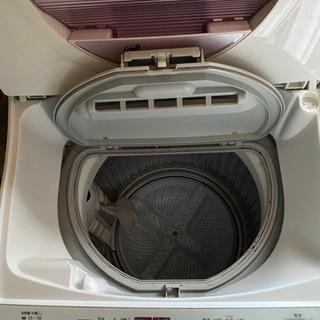 洗濯機 乾燥機能付き SHARP - 家電