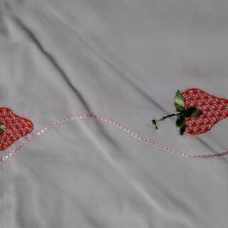 無料:未使用 レトロ可愛いこたつ布団カバー(シミ有) − 宮城県