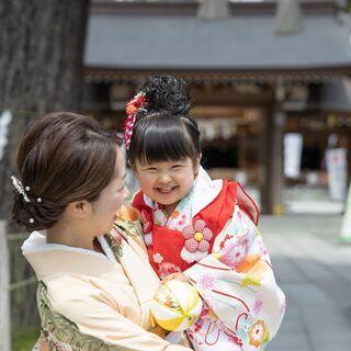 神奈川県内で、お宮参りや七五三の出張撮影やっています!