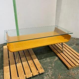 ☆おしゃれガラスカフェテーブル幅96☆