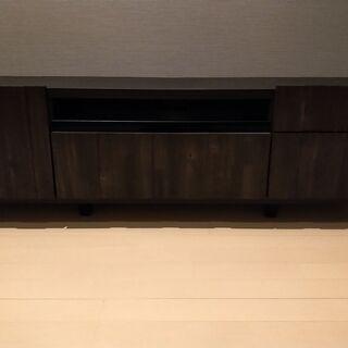 テレビボード 145cm ウッドテイスト 木目