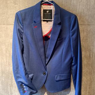 LOVELESS ラブレス テーラードジャケット 青 サイズ36