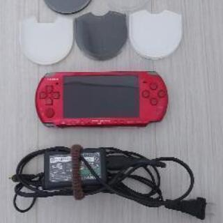 PSP-3000本体とソフト付  値下げ
