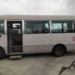 三菱 ローザー マイクロバス 介護仕様車 中型バス BE63EE...