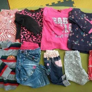 女の子服 子供服 90~95cm 9点
