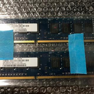 PCメモリー 4GB 2枚 PC3-12800U
