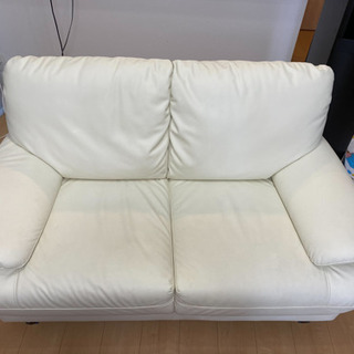 【ネット決済】ニトリのソファ 2人掛け