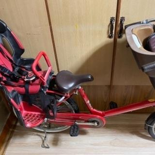【中古】子供乗せ3人乗り自転車の画像