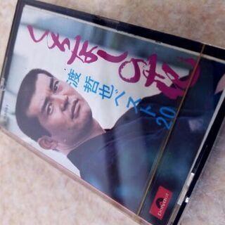 【ネット決済・配送可】新品/未開封 カセットテープ 渡哲也 くち...