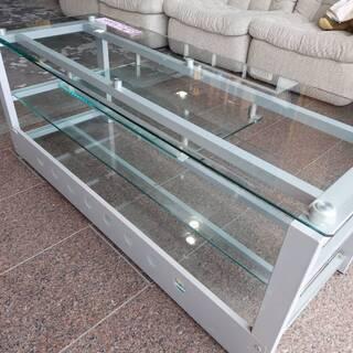 ガラス センター テーブル
