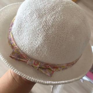 白い帽子46cm