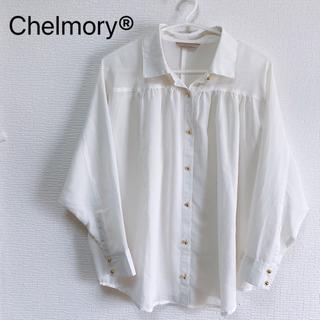 【夏物処分】Chelmory ドルマンスリーブ【白】