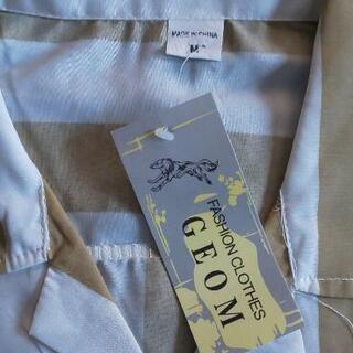 メンズサマーストライプシャツ 新品 − 東京都