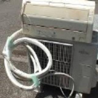エアコン無料にて回収・引取致します。