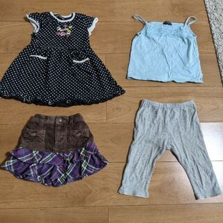 100センチ 女の子衣服セット