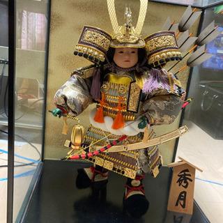 秀月の五月人形です。 - 大阪市