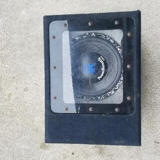 ウーハーボックス PowerAcoustik USA アンプ付