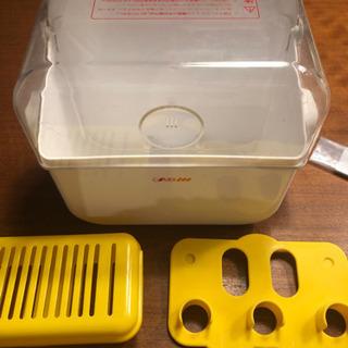 コンビ 電子レンジ消毒&保管ケース+哺乳瓶ケース
