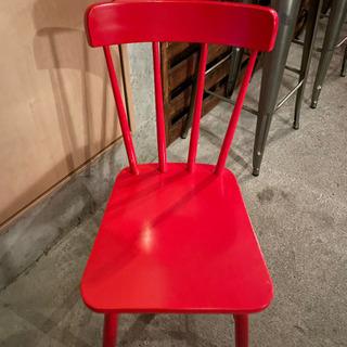 椅子 赤 チェア