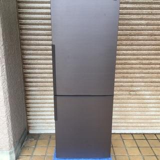 シャーププラズマクラスター冷蔵庫 271L   中型冷蔵庫 美品