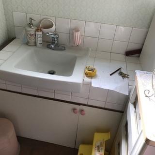世界に一つだけの 洗面台