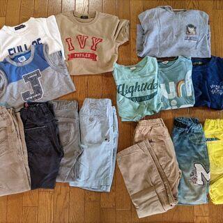 男の子 130~140 子供服セット 男児 ブルークロス等ブラン...