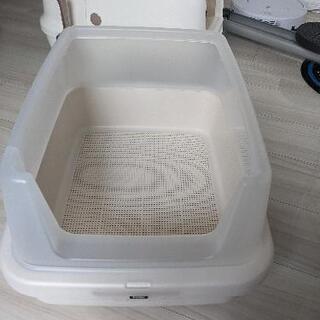 猫 システムトイレ 四角の画像
