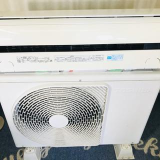 冷暖房✨エアコン✨主に10畳用✨TOSHIBA✨分解清掃済み😍