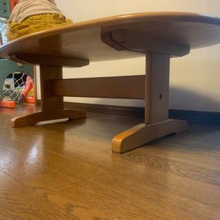 ウッドローテーブル 縦105cm横61cm高さ36cm