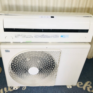 冷暖房✨エアコン✨主に8畳用✨TOSHIBA✨分解清掃済み😍