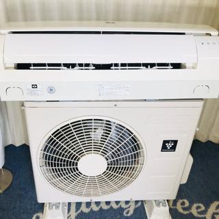 SHARP✨プラズマクラスター✨冷暖房✨エアコン✨主に6畳…
