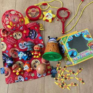 アンパンマン  おもちゃ 指人形 アンパンマンミュージアム