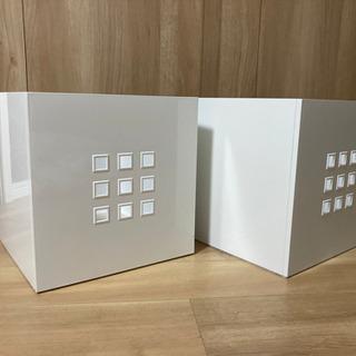 IKEA イケア レークマン 収納ボックス 2個セット