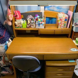 学習机、袖机、椅子
