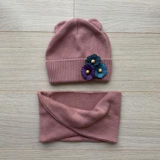 【ネット決済】帽子 スヌード  帽子とスカーフ