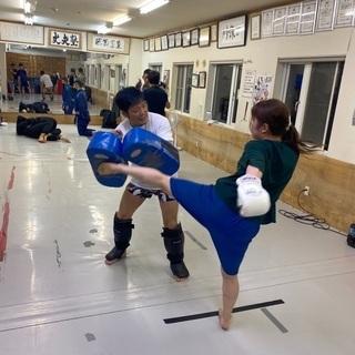 【札幌市清田区】レディースキックボクシング
