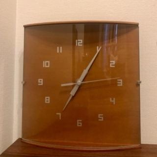 値下げしました! 壁掛け 時計 イデア 木製