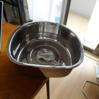 ステンレス製洗い桶★新品同様★