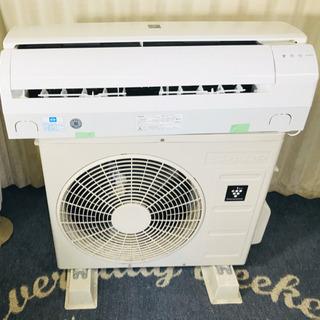 プラズマクラスター搭載✨SHARP✨冷暖房✨エアコン✨分解…