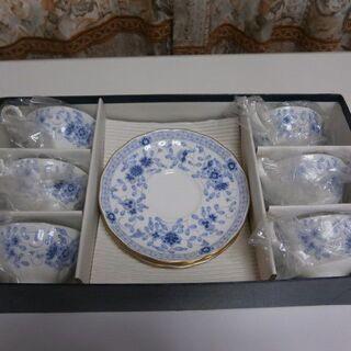 来客用に! ティー碗皿6個セット(中古・良品)