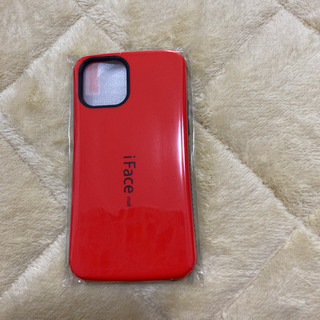 iFace mall iPhone12ケース 赤 新品未使用