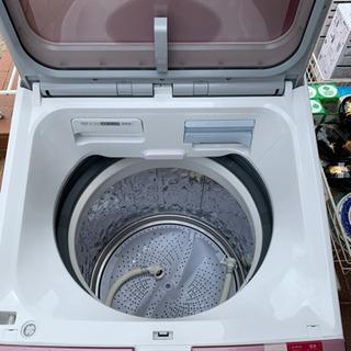9/14 値下げ⭐️乾燥機能付⭐️2016年製 SHARP 8.0kg/4.5kg洗濯乾燥機 プラズマクラスター ES-GX8A シャープ - 福岡市