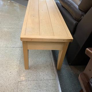 MJ205  木製ベンチチェア - 家具
