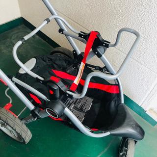 【お譲り先決まりました】ドリンクホルダー付きベビーカー AB対応 ベビーシート装着可 コルクラフト contours − 熊本県