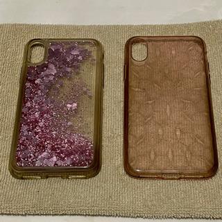 iPhone X スマホケース 2個