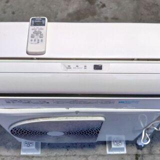 東芝2016年式 エアコンです。 分解洗浄済み、試運転済みですの...