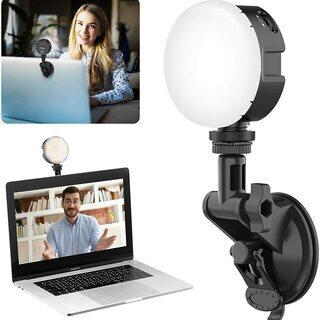 ULANZI ビデオライト ビデオ会議など 補光ライト グレアな...