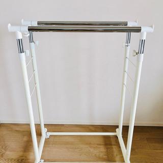 ハンガーラック ☆高さ・横調節可能 - 家具