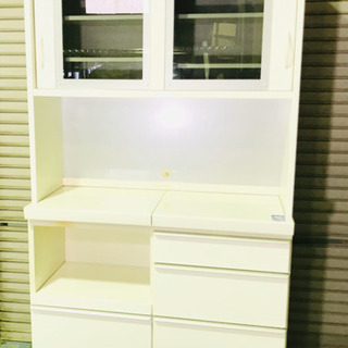 早い者勝ち‼️松田家具✨食器棚✨キッチンボード✨清掃済み😍